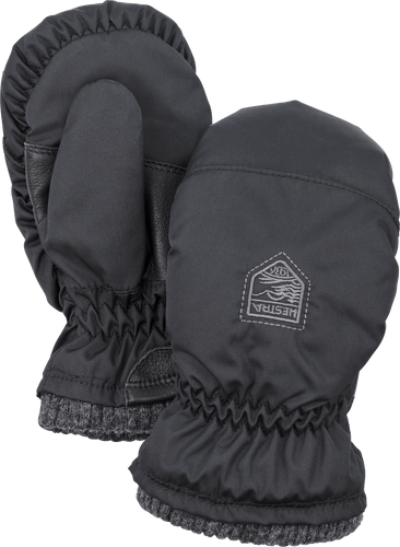 Hestra My First Hestra Mitt, Baby, Black (36921-100)