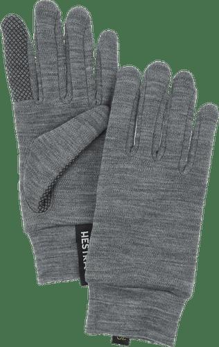 Hestra Merino Touch Point Unisex Gloves, Grey (34440-350)