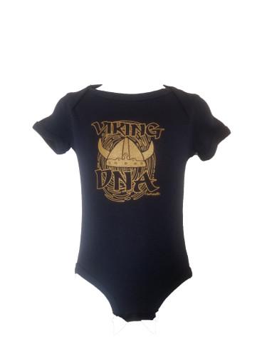 Viking DNA Infant Onesie, Navy (1094-5050-6500)