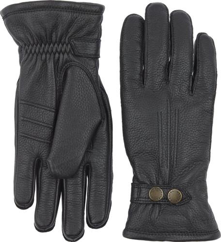 Hestra Tällberg Unisex Gloves, Black (20870-100)