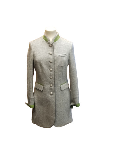 Schneider's Odette Ladies' Jacket, in Pearl Grey/Smaragdine