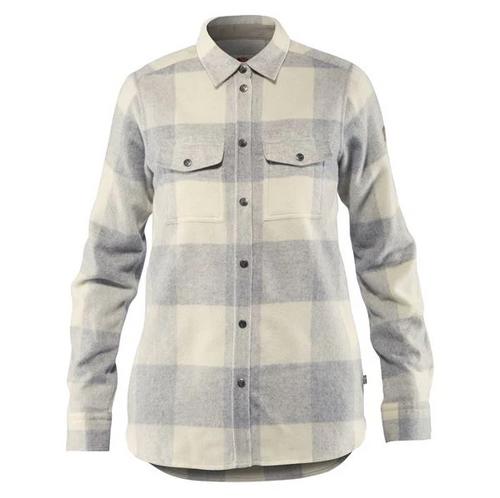 Fjällräven Canada Shirt, Women's, Fog/Chalk White - F90835-021-113 (F90835-021-113)