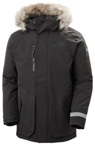 Helly Hansen Tromsoe Parka, Mens - Black | 53491-990