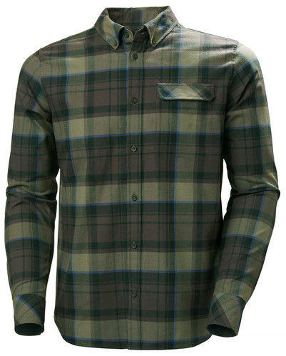 Helly Hansen Classic Check LS Shirt, Men's - Beluga Plaid, 62923-482 (62923-482)