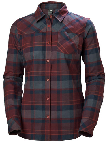 Helly Hansen Classic Check LS Shirt, Ladies' - Wild Rose Plaid, 62930-662 (62930-662)