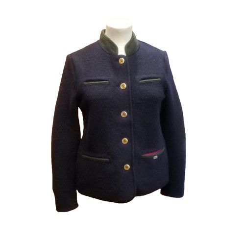 Geiger Ladies' Jacket, in Navy/Forest Green/Fuschia (79050-9056)