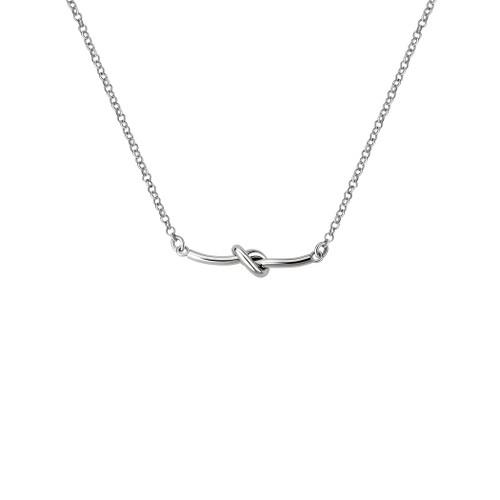 Danish Silversmiths Love Knot Necklace (SN48VS)