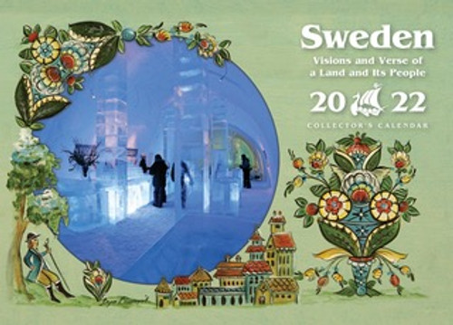 202 Sweden Visions and Verse Calendar - Paulstad, Front Cover