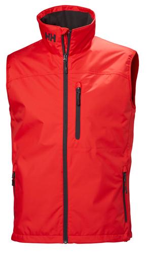 Helly Hansen Crew Vest, Men's - Alert Red, 30270-222