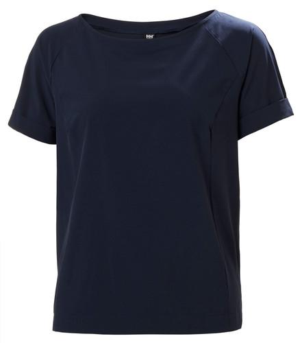 Helly Hansen Womens Thalia SS T-Shirt  -  Navy, 34169-597