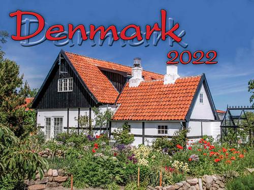 2022 Denmark Calendar in Photographs - Nordiskal
