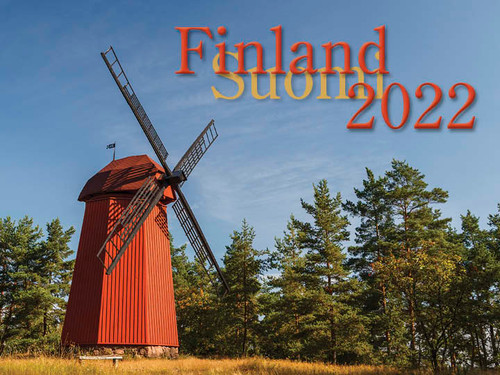2022 Finland Calendar in Photographs - Nordiskal