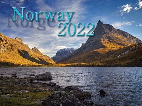 2022 Norway Calendar in Photographs - Nordiskal