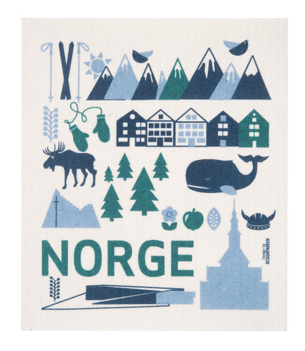 Swedish Dishcloth - Norge