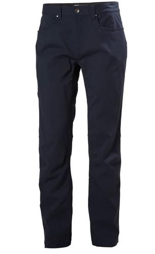 Helly Hansen Holmen 5 Pocket Pant, Men's - Navy,62897-597