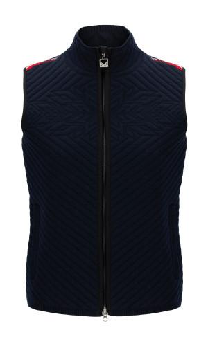 Dale of Norway OL Spirit Women's Padded Vest, Navy/Off White/Raspberry, 85281C
