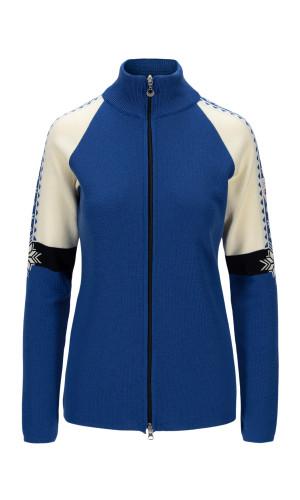 Dale of Norway Geilo Jacket Ladies - Ultramarine/Offwhite/Navy,83461H
