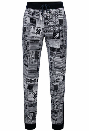 Dale of Norway Ol History Unisex Pants, Mens - Navy/Off White,62091C
