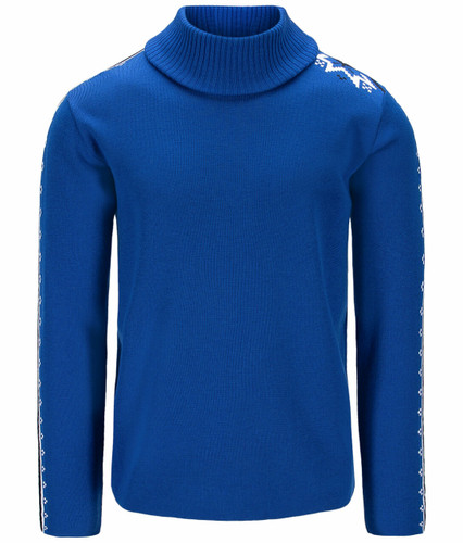 Dale of Norway Mount Aire Sweater, Mens - Ultramarine/White/Navy,94611H