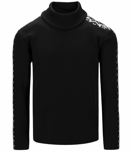 Dale of Norway Mount Aire Sweater, Mens - Black/Smoke/White,94611F