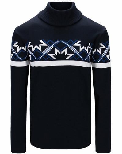 Dale of Norway Mount Ashcroft Sweater, Mens - Navy/White/Ultramarine,94631C