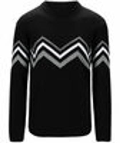 Dale of Norway Mount Shimmer Sweater, Mens - Black/Smoke/White,94591F