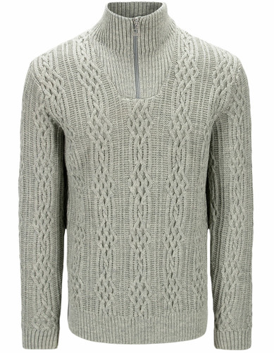 Dale of Norway HovenSweater, Mens - Light Charcoal,94731T