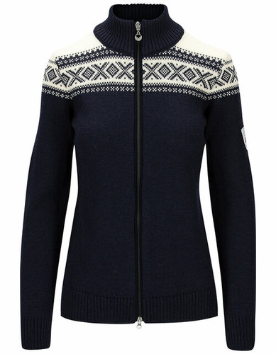 Dale of Norway Cortina Heron Women's Jacket, Navy/Off White, 83901C