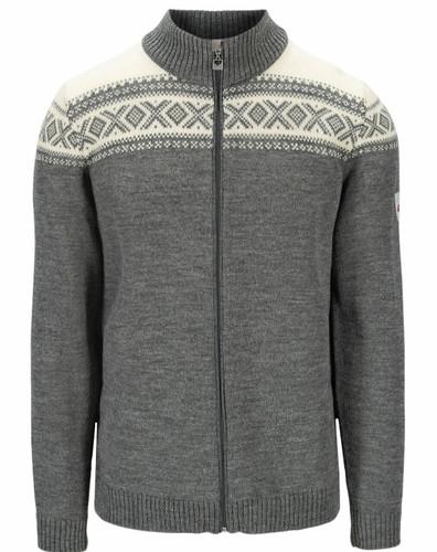 Dale of Norway Cortina Heron Men's Jacket, Smoke/Off White, 83911E