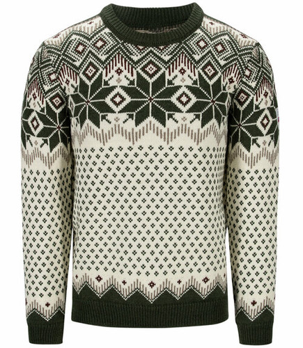 Dale of Norway Vegard Men's Sweater,Dark Green/Off White/Mountain Stone, 94991N