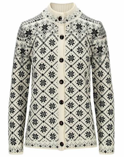 Dale of Norway Brimse Women's Jacket, Off White/Black/Smoke, 83761A