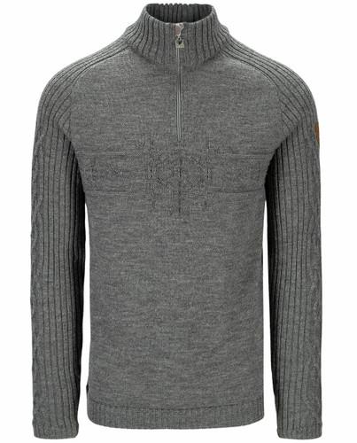 Dale of Norway Vegvisir Men's Sweater, Smoke, 94691T