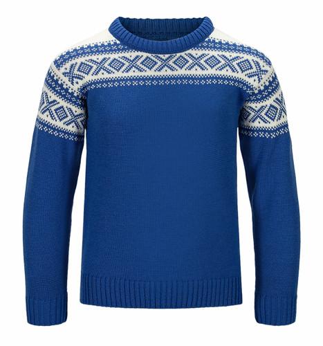 Dale of Norway Cortina Sweater, Childrens - Ultramarine/Off White, 92991H