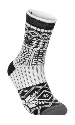 Dale of Norway OL History Sock, Dark Charcoal/Off White/Smoke, 50141E