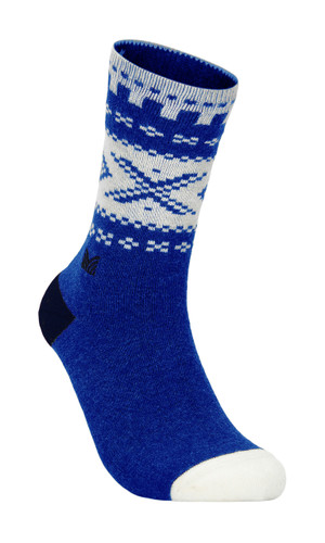 Dale of Norway Cortina Sock,Ultramarine/Off White/Navy, 50101H