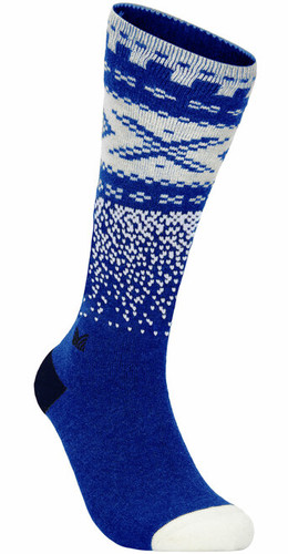 Dale of Norway Cortina Sock High, Ultramarine/Off White/Navy, 50111H