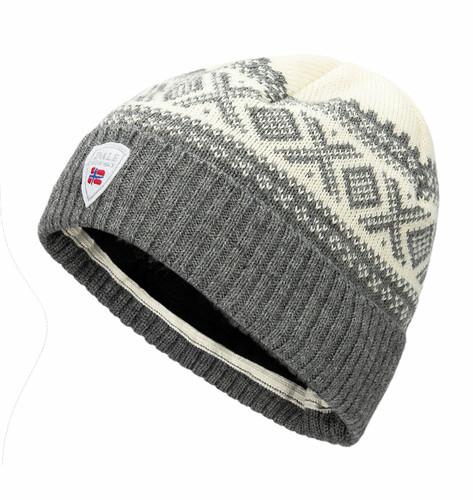 Dale of Norway Cortina Heron Hat, Smoke/Off White, 48921E