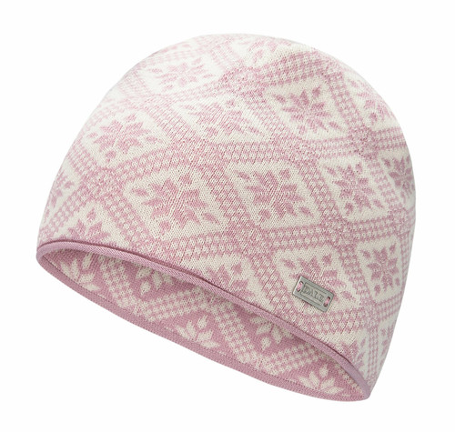 Dale of Norway Christiania Hat, Dawn Pink/Off White, 48701-I