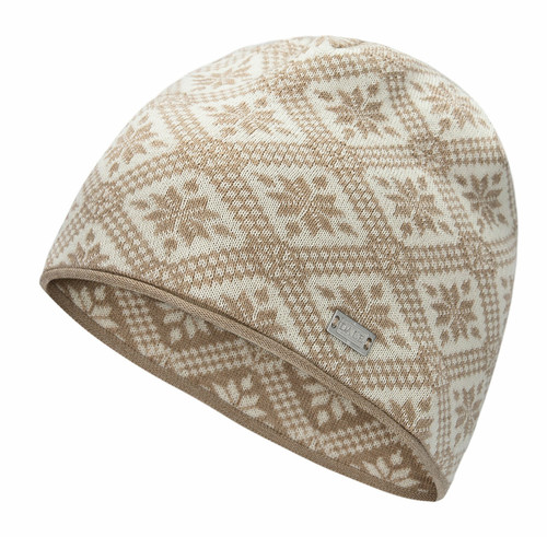 Dale of Norway Christiania Hat, Beige/Off White, 48701-P