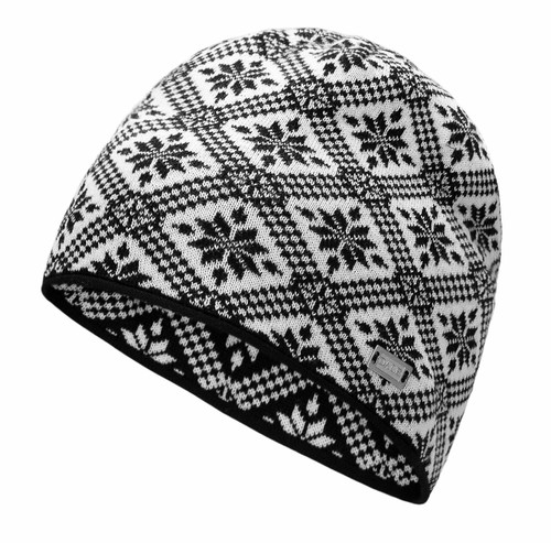 Dale of Norway Christiania Hat, Black/Off White, 48701-F