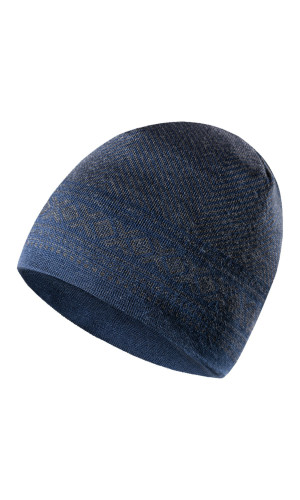 Dale of Norway Harald Hat - Navy/Dark Charcoal, 48061-W