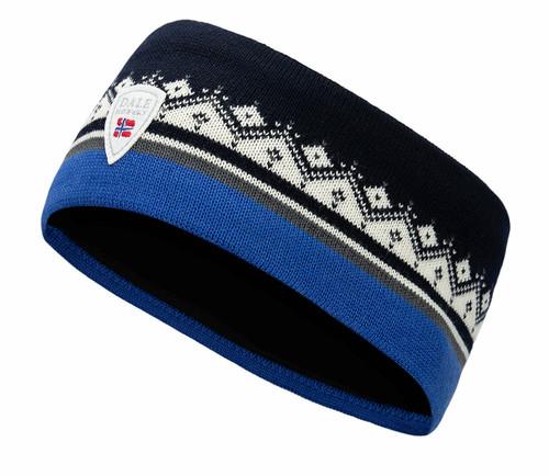 Dale of Norway Moritz Headband - Ultramarine/Navy/Off White, 26091-R