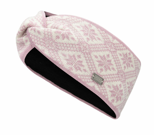 Dale of Norway Christiania Headband - Dawn Pink/Off White, 26701-I