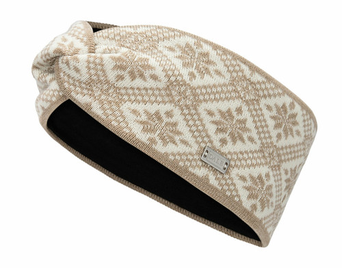 Dale of Norway Christiania Headband - Beige/Off White, 26701-P