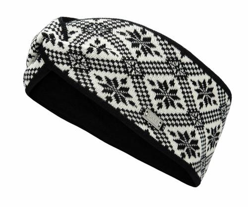 Dale of Norway Christiania Headband - Black/Off White, 26701-F