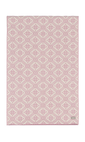 Dale of Norway Christiania Scarf - Dawn Pink/Off White, 11701-I