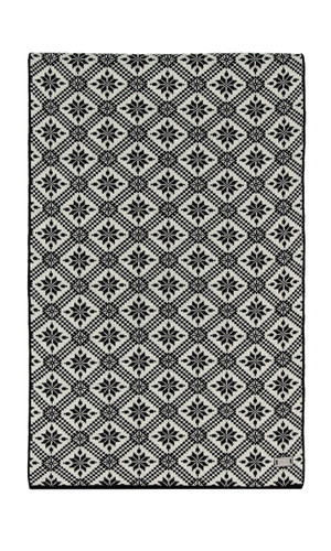 Dale of Norway Christiania Scarf - Black/Off White, 11701-F