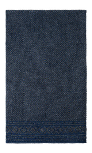 Dale of Norway Harald Scarf - Navy/Dark Charcoal, 10981-W