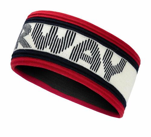 Dale of Norway Norway Kids' Headband, Navy/Off White/Raspberry, 26791-C