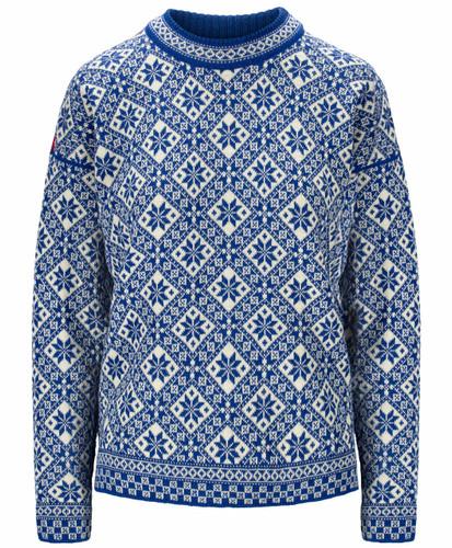 Dale of Norway Bjorøy Sweater, Ladies -Ultramarine/Off White/Raspberry, 94401H